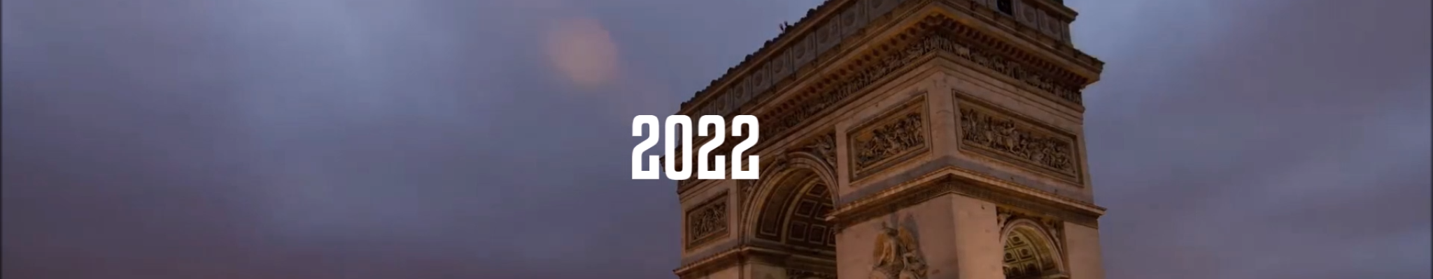 Arc de triomphe 2022