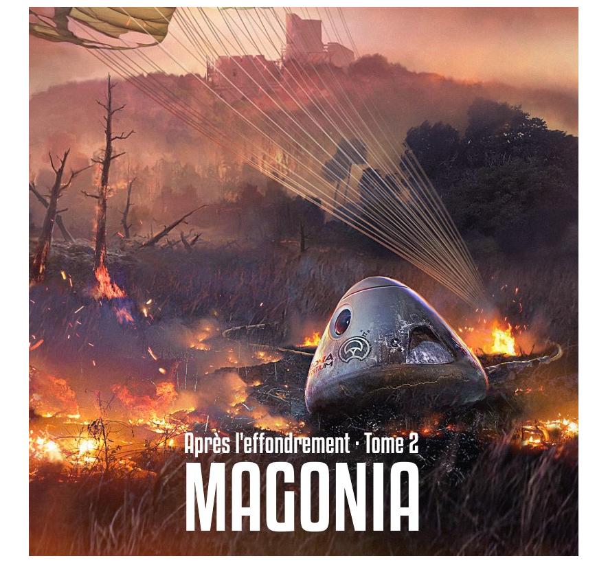 Après l'effondrement 2 : Magonia,  grêle et tonnerre est sorti en numérique !